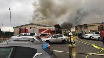 Avusturya'da gaz istasyonunda patlama meydana geldi