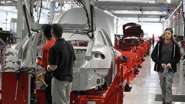 ABD'de sanayi üretimi beklenenden az arttı