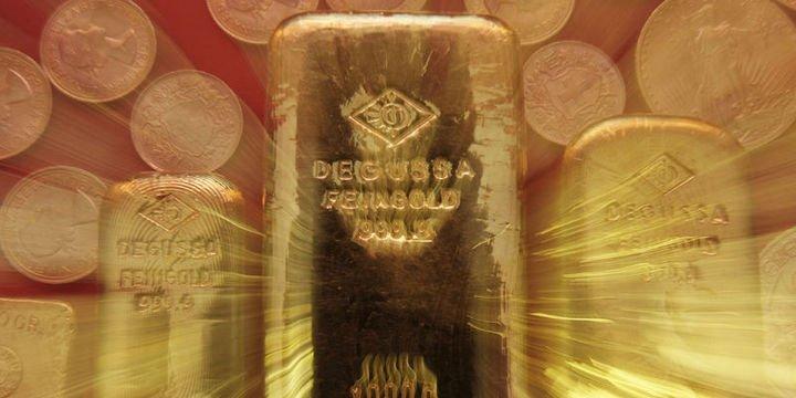 Altın dolar ve hisselerdeki gerilemeden destek buldu