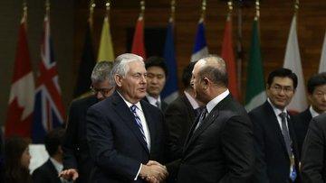 """Çavuşoğlu'ndan Tillerson'a """"Suriye"""" uyarısı"""