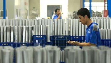 Çin'de sanayi üretimi Aralık'ta beklentinin üzerinde arttı