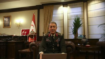 Orgeneral Akar MİT Müsteşarı ile Rusya'ya gitti
