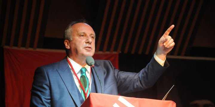 Muharrem İnce de CHP Genel Başkanlığı