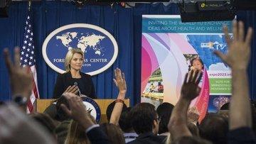 ABD Dışişleri: Türkiye'yi Afrin'e yönelik bir adım atmama...