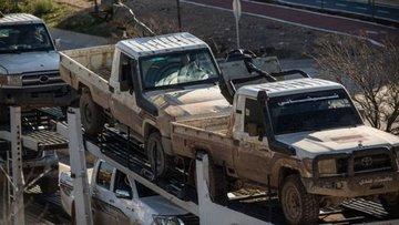 ÖSO birlikleri Afrin'e girmeye başladı
