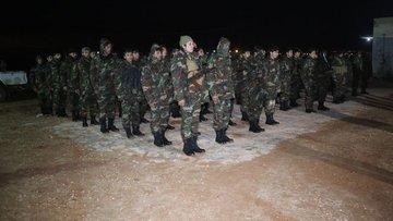 Zeytin Dalı Harekatı'nda ÖSO karadan kapsamlı operasyonla...