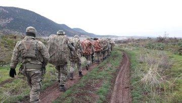 TSK, Afrin'de Zeytin Dalı Harekatı'nda kara operasyonunu ...