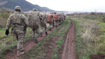 TSK kara unsurları Afrin içinde ilerliyor