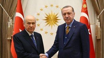 Erdoğan ile Bahçeli telefonda görüştü