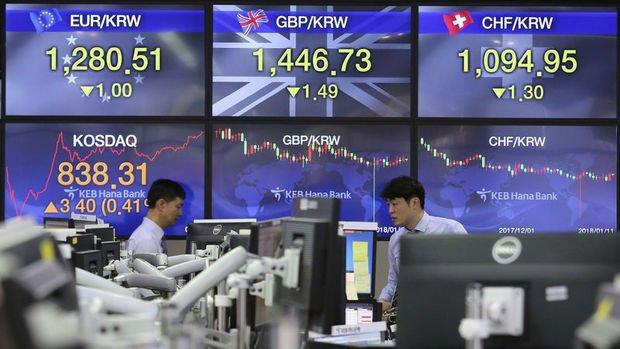 Gelişen piyasalar won öncülüğünde düşüşte