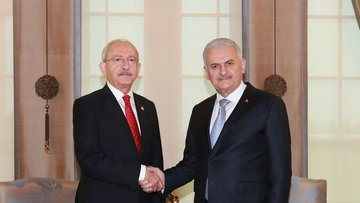 Yıldırım-Kılıçdaroğlu görüşmesi sona erdi
