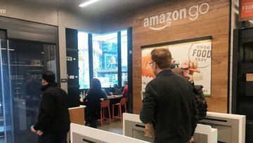 Amazon kasa ve kasiyersiz ilk süpermarketi açtı