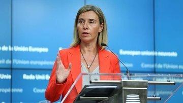 AB/Mogherini: Zeytin Dalı Harekatı'ndan son derece endişe...