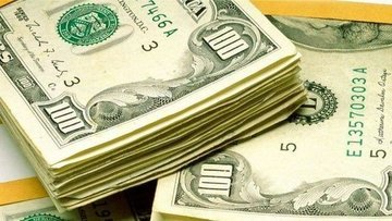 """Dolar """"ABD ticaret açığı"""" endişeleriyle kayıplarını geniş..."""