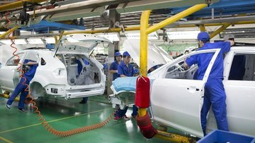 Çin'de imalat PMI'sı Ocak'ta 8 ayın düşüğüne geriledi