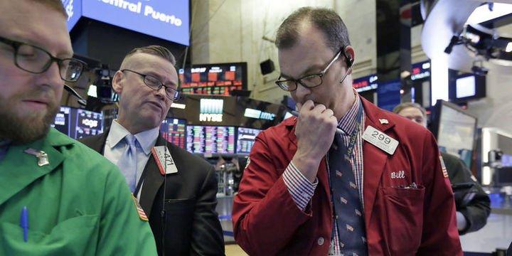 ABD borsaları yeni haftaya da düşüşle başladı