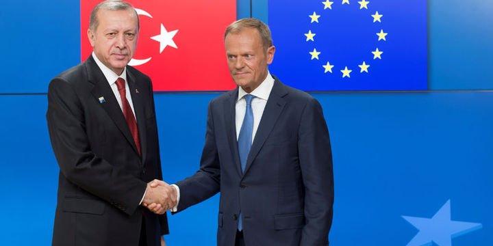 Tusk ve Juncker 26 Mart