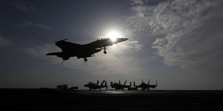 Türk savaş uçakları Afrin'deki hedefleri vurdu