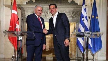 Başbakan Yıldırım, Yunanistan Başbakanı Çipras ile görüştü