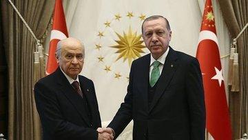 """""""Erdoğan-Bahçeli görüşmesinde tam mutabakat sağlandı"""""""