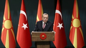 Erdoğan: Terörist gruplar topçu ateşiyle dönmek durumunda...