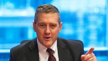 Fed/Bullard: Faizler bu yıl çok hızlı artırılmamalı