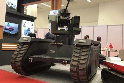 Katmerciler'den TSK'ya insansız kara aracı takv...