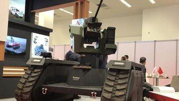 Katmerciler'den TSK'ya insansız kara aracı takviyesi