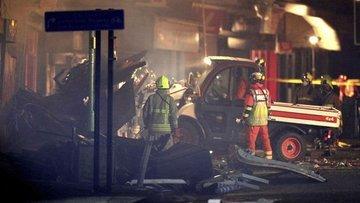 İngiltere'de bir binada patlama meydana geldi
