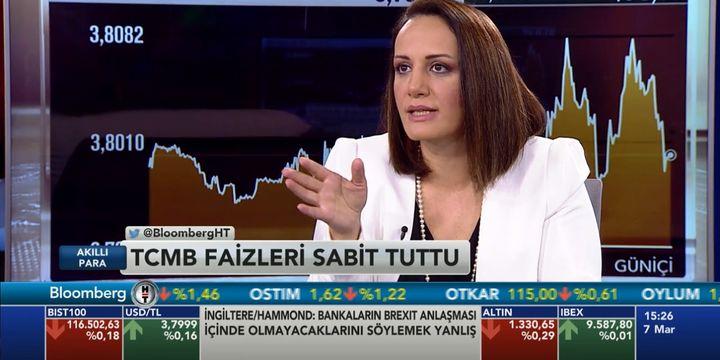 """""""TCMB, çekirdek enflasyon düşmeden faizi kolay kolay indirmem dedi"""""""