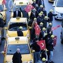 UBER DAVASI TAKSİCİLERİN PROTESTOSUYLA BAŞLADI