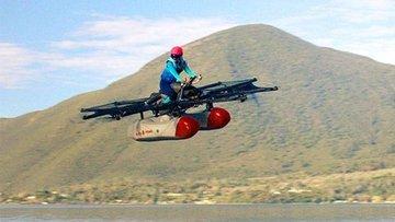 """Google'ın kurucusundan """"uçan taksi"""" için büyük adım"""