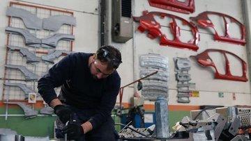 Avrupa'da sanayi üretimi ocakta yavaşladı