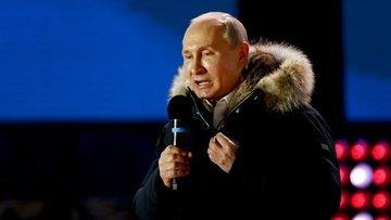 Rusya'da başkanlık seçimini Putin kazandı