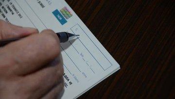 Bankalara 2 ayda 3,9 milyon çek ibraz edildi