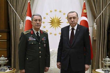 Erdoğan Genelkurmay Başkanı Org. Akar'ı kabul e...
