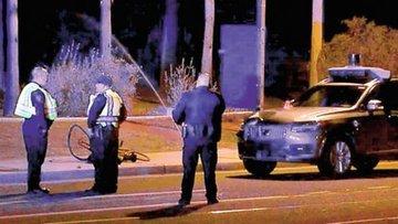 Uber aracının karıştığı trafik kazası tartışmaları ateşledi