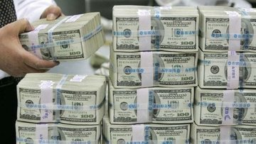 Yurt içi yerleşiklerin döviz mevduatı 1.3 milyar dolar az...