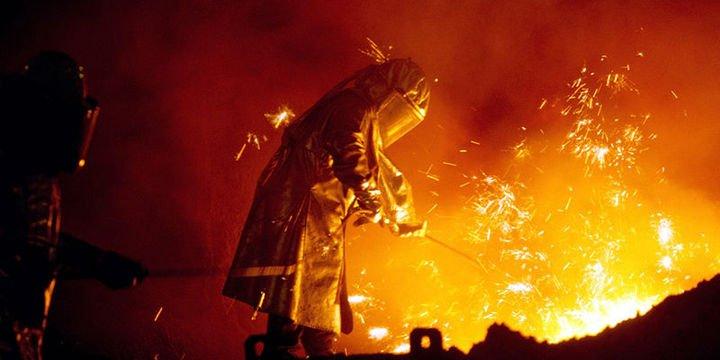 Ham çelik üretimi arttı