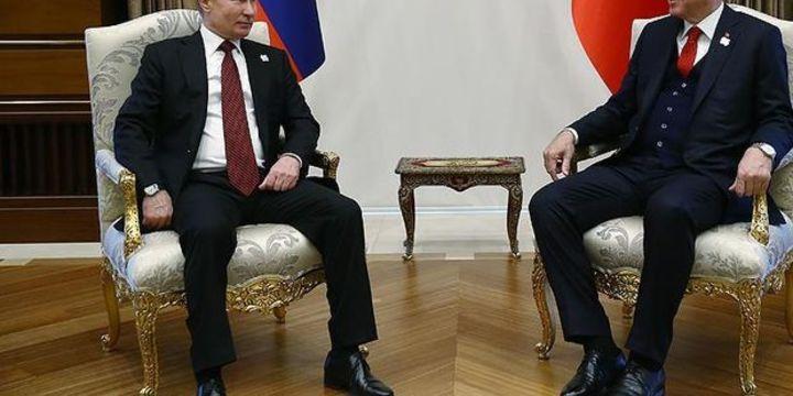 Cumhurbaşkanı Erdoğan ile Putin
