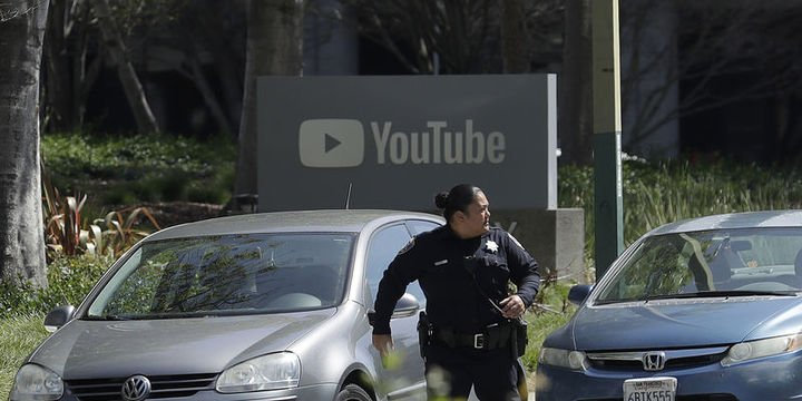 YouTube ana merkezinde silahlı olay: 1 ölü, 4 yaralı