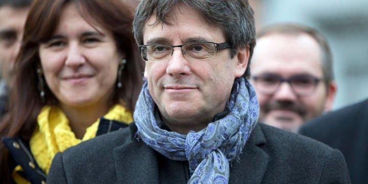 Eski Katalonya Özerk Yönetimi Başkanı Puigdemont şartlı tahliye edildi