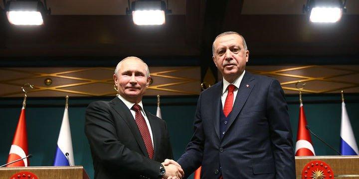 Erdoğan ile Putin Doğu Guta