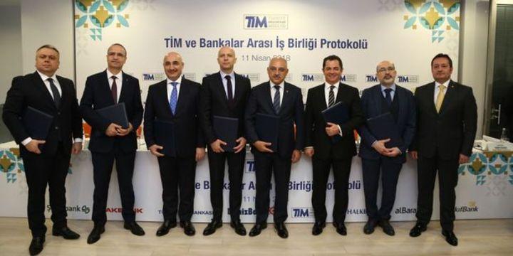 İhracatçılarla 7 banka arasında işbirliği