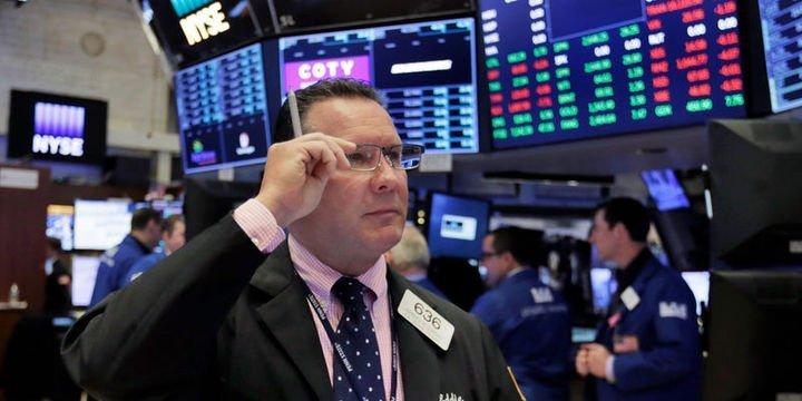 """ABD borsaları """"risklerle"""" düşüşle kapandı"""