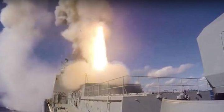 Rus donanma gemileri Suriye kıyılarında tatbikat yapacak