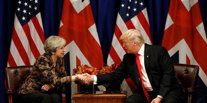 Trump May ile Suriye