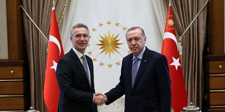 Cumhurbaşkanı Erdoğan NATO Genel Sekreteri Stoltenberg