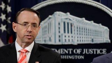 Rosenstein: Mueller'in soruşturmasında Trump hedefte değil