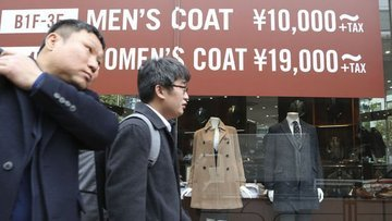Japonya'da tüketici fiyatları Mart'ta yıllık yüzde 0.9 arttı